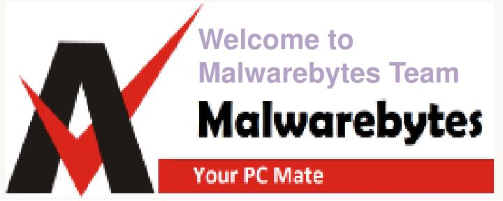 welcome to malwarebytes team n.