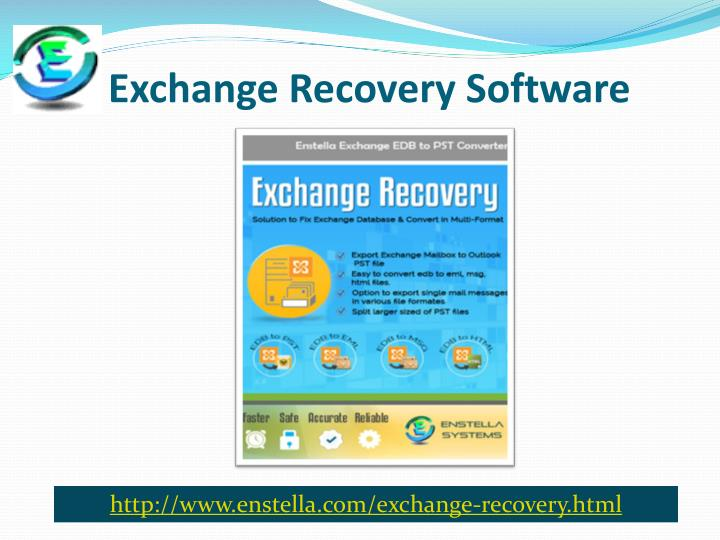 exchange recovery software n.