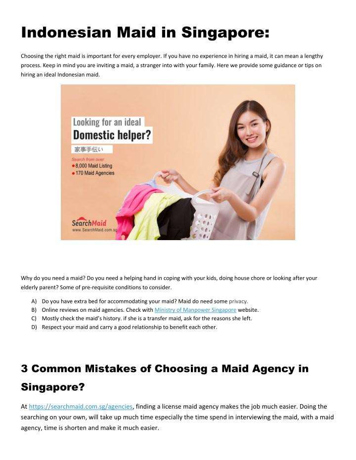 indonesian maid in singapore n.