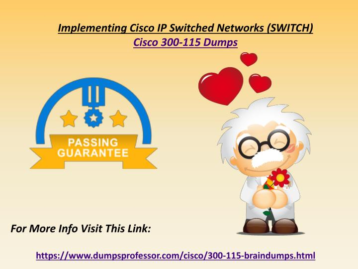 implementing cisco ip switched networks switch n.