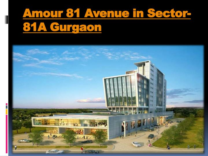 amour 81 avenue in sector 81a gurgaon n.