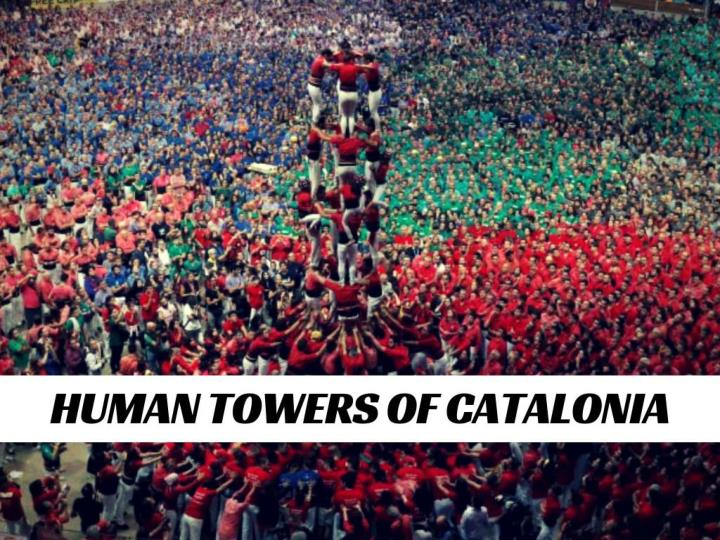 human towers of catalonia n.