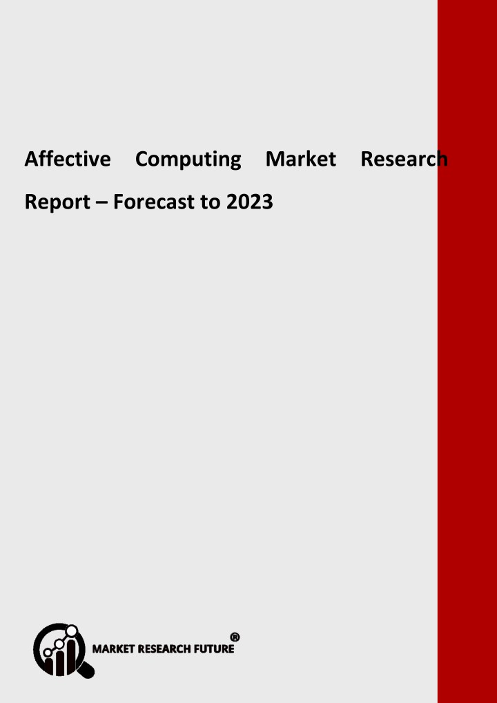 affective computing market research report n.