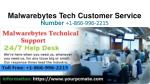 malwarebytes tech customer service number 1 866 996 2215