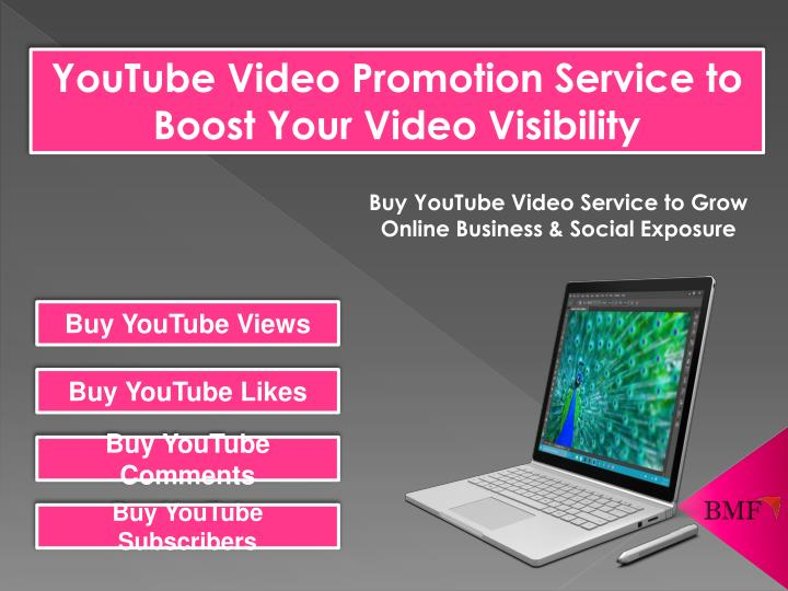 PPT - Buy YouTube Video Promotion Services to Make Your
