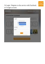 3 login register to the service with facebook