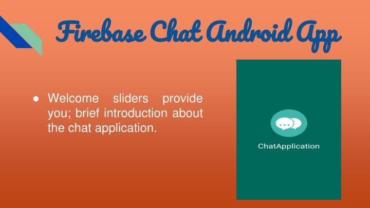 PPT - Firebase Chat Android Source code App PowerPoint