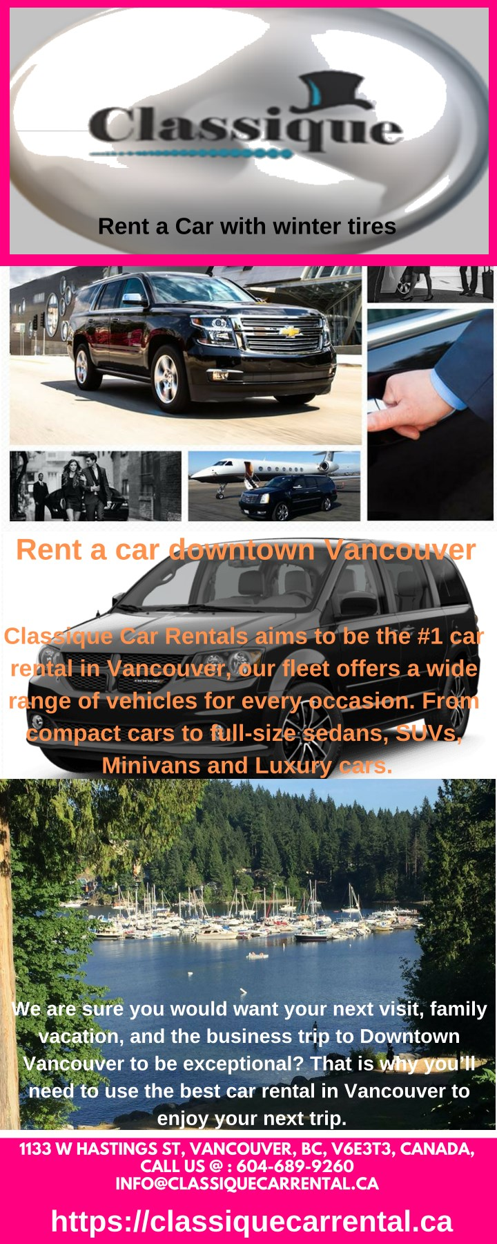 rent a car with winter tires n.