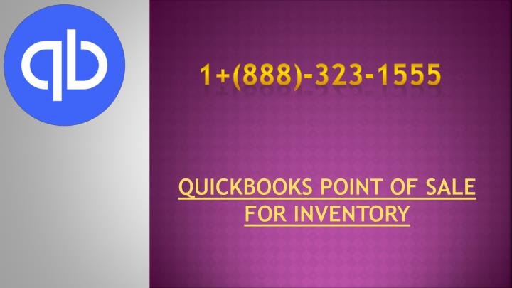 quickbooks point of sale for inventory n.