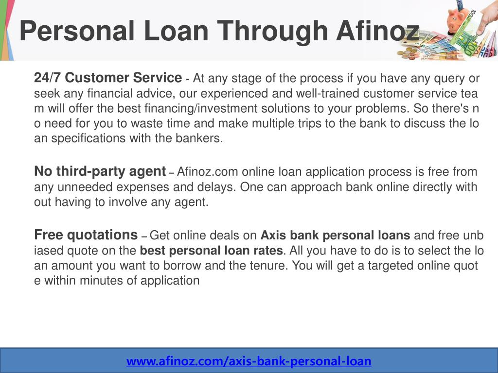 Ppt Axis Bank Personal Loan Powerpoint Presentation Free Download Id 8059983