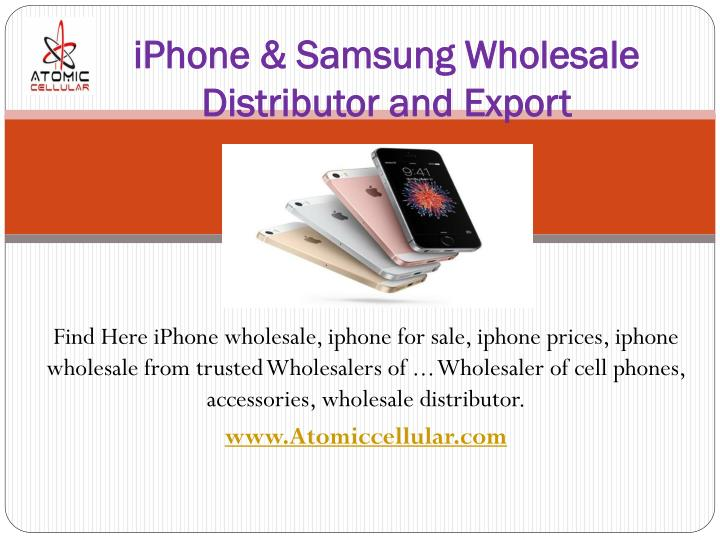 iphone samsung wholesale distributor and export n.