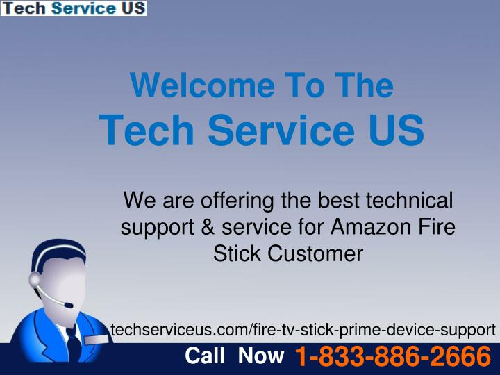 welcome to the tech service us n.