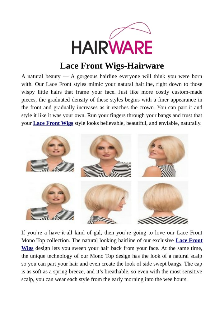 lace front wigs hairware a natural beauty n.