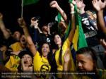 supporters of jair bolsonaro react after 1