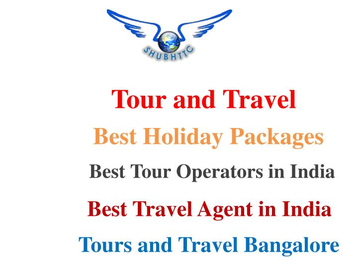 tour and travel n.