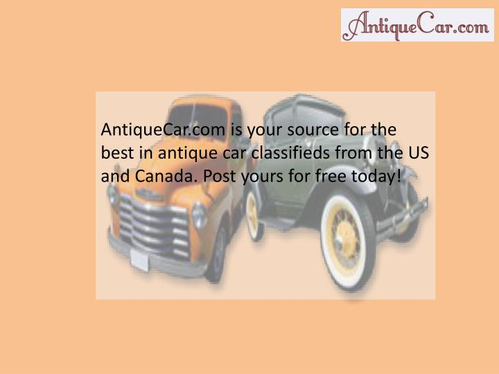 antiquecar com is your source for the best n.