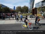google employees stage a women s walkout at their 1