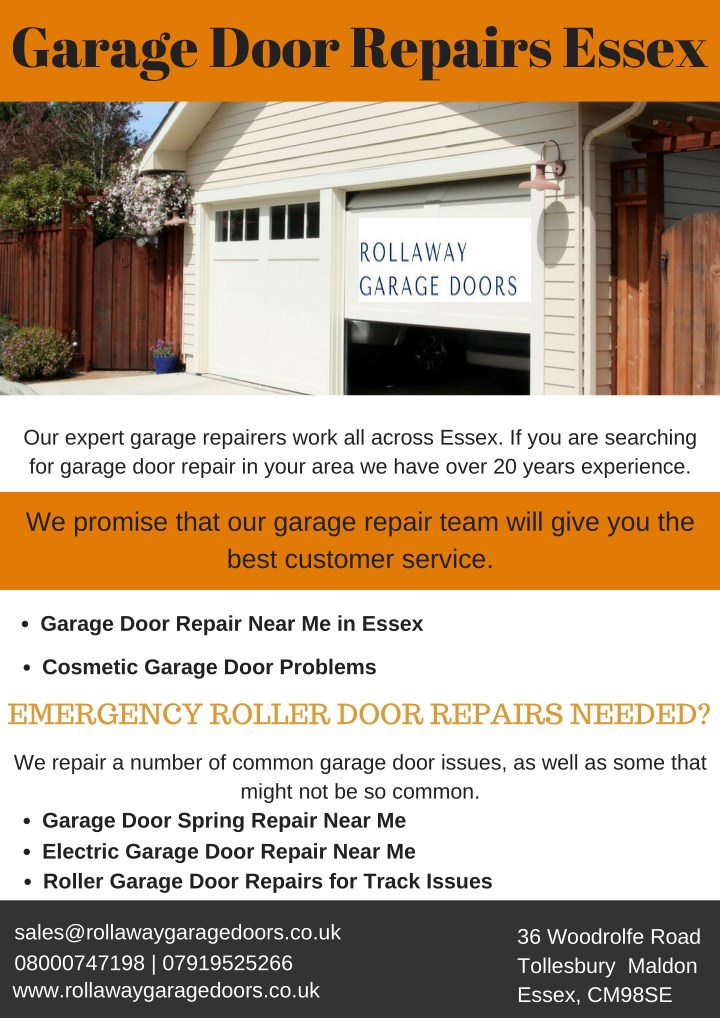 garage door repairs essex n.