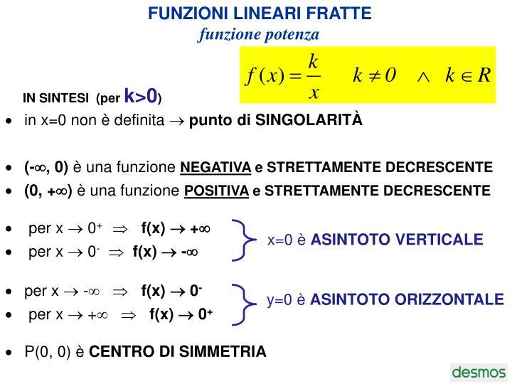 PPT - Le funzioni: 2a parte PowerPoint Presentation - ID:8071659