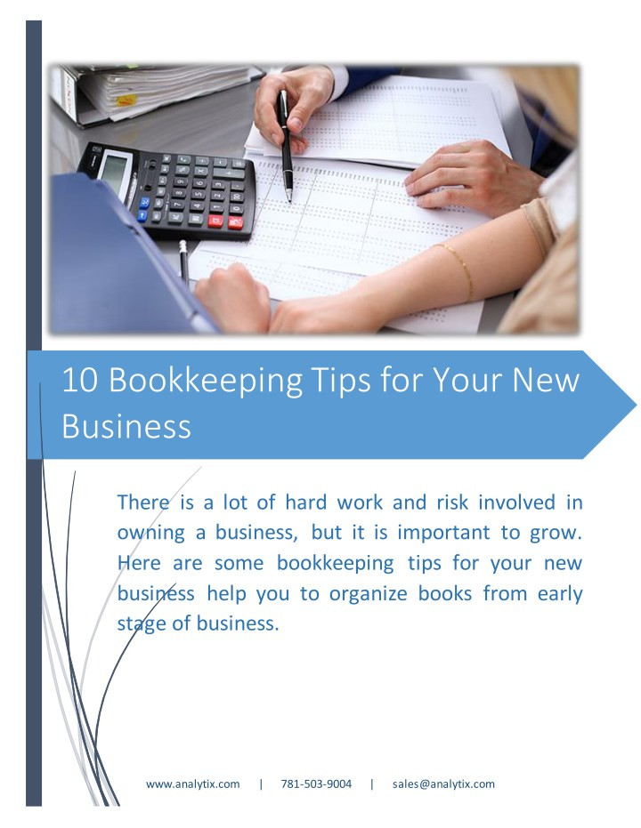 10 bookkeeping tips for your new business n.