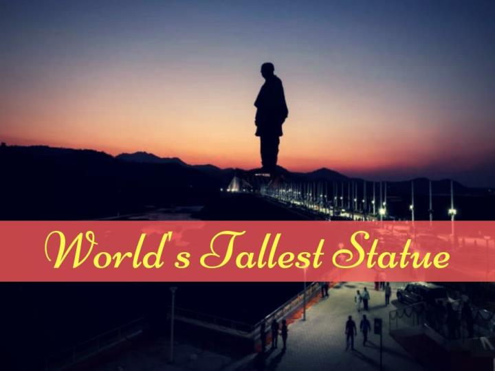 world s tallest statue n.