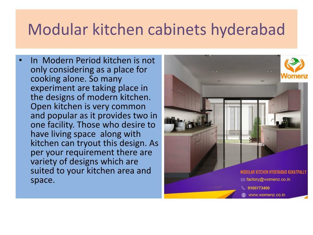 Ppt Modular Kitchen Manufacturers In Hyderabad Powerpoint Presentation Id 8074040