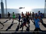 runners cross the verrazzano bridge
