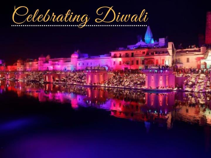 celebrating diwali n.