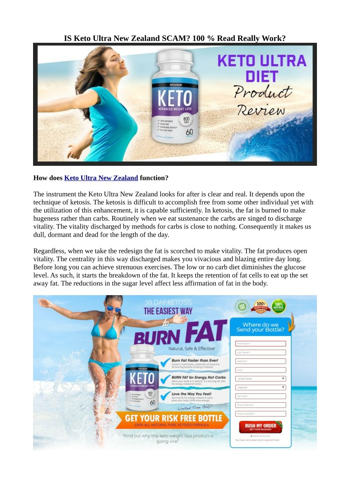 is keto ultra new zealand scam 100 read really n.