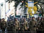people attend the veterans day parade in new york 1