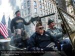 people attend the veterans day parade in new york