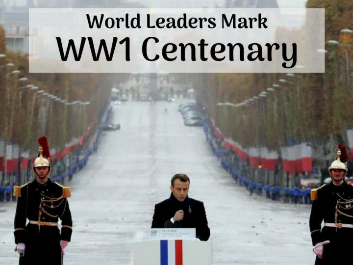 world leaders mark ww1 centenary n.