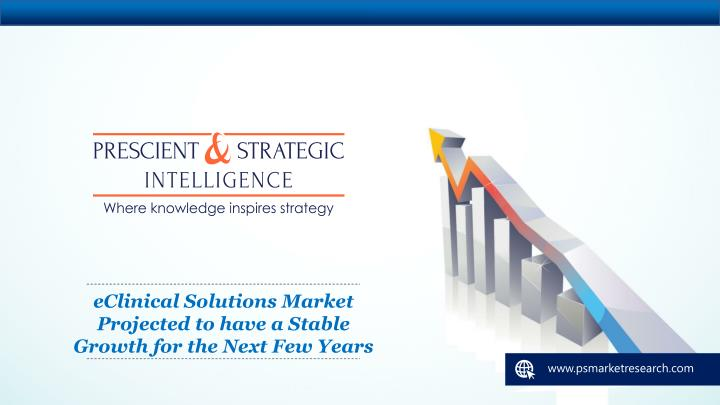 eclinical solutions market projected n.