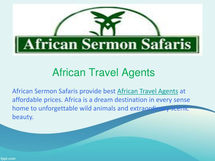 african travel agents n.