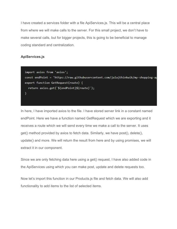PPT - Understanding how to code ReactJS | Data Fetch using