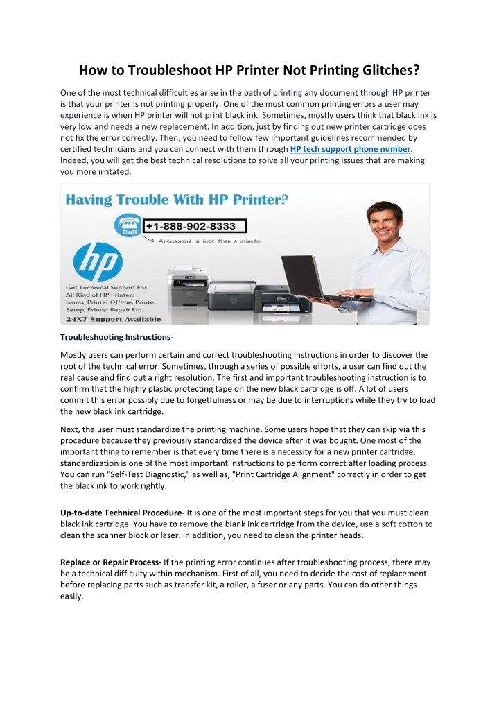 how to troubleshoot hp printer not printing n.