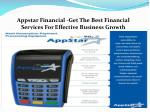 appstar financial get the best financial services