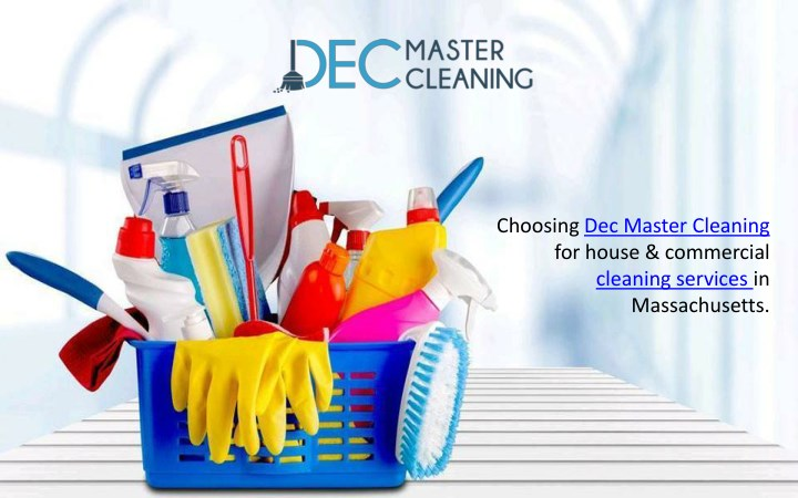 choosing dec master cleaning for house commercial n.