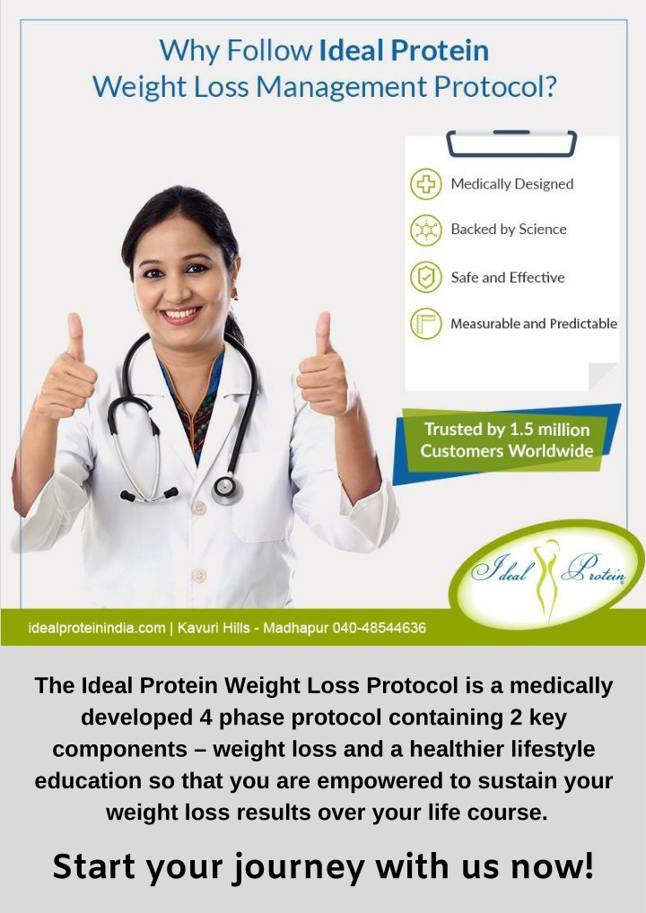 the ideal protein weight loss protocol n.