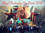 macy s thanksgiving day parade 2018
