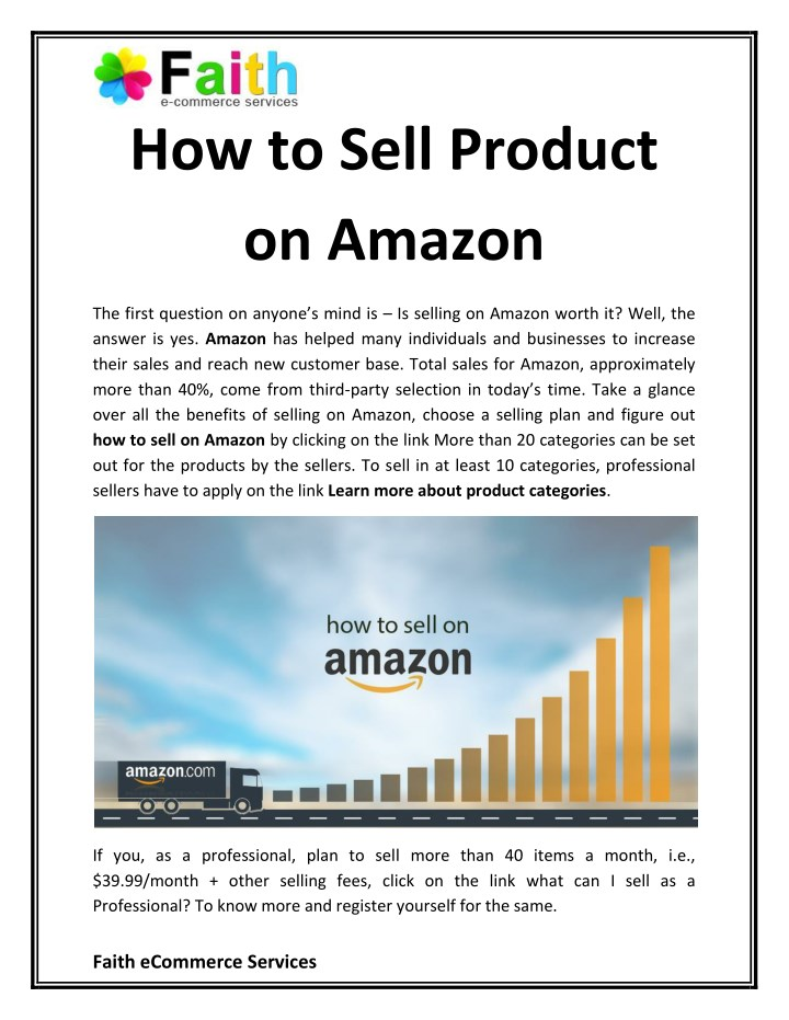 sell on amazon for free