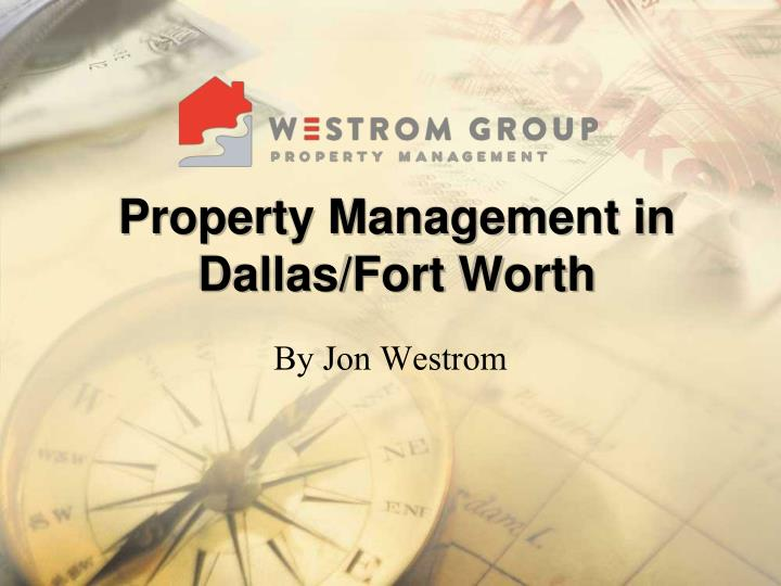 property management in dallas fort worth n.
