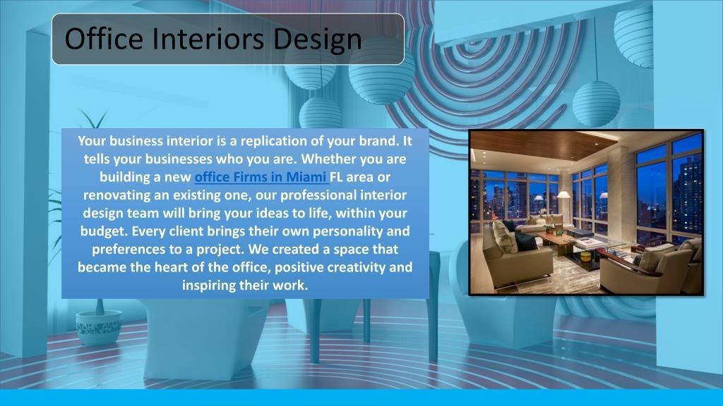Ppt Miami Interior Decorator