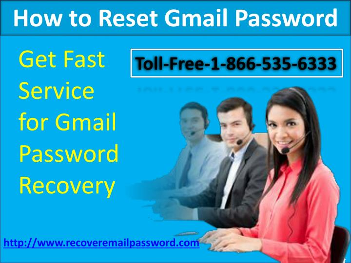 how to reset gmail password n.
