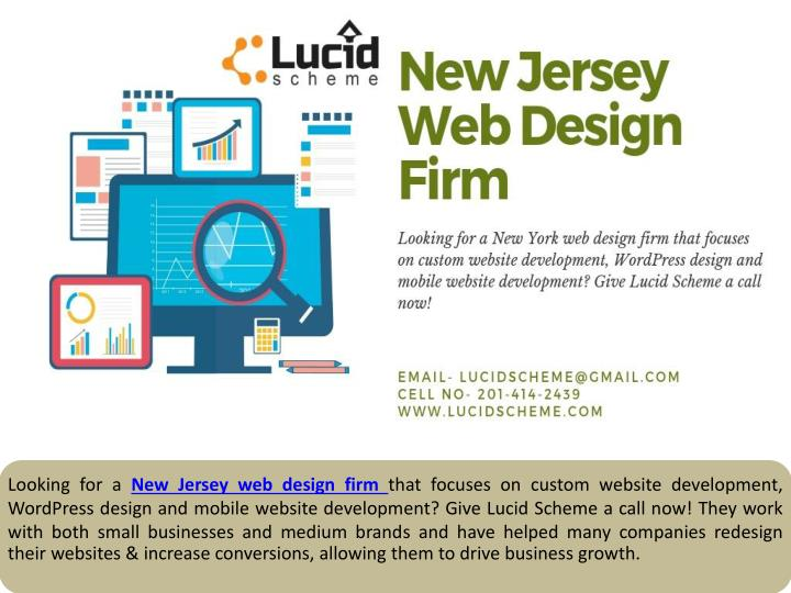 Ppt New Jersey Web Design Firm Powerpoint Presentation Free Download Id 8102995