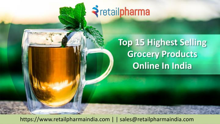 PPT - Top 15 Highest Selling Grocery Products Online In