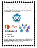companies also do provide in microsoft office
