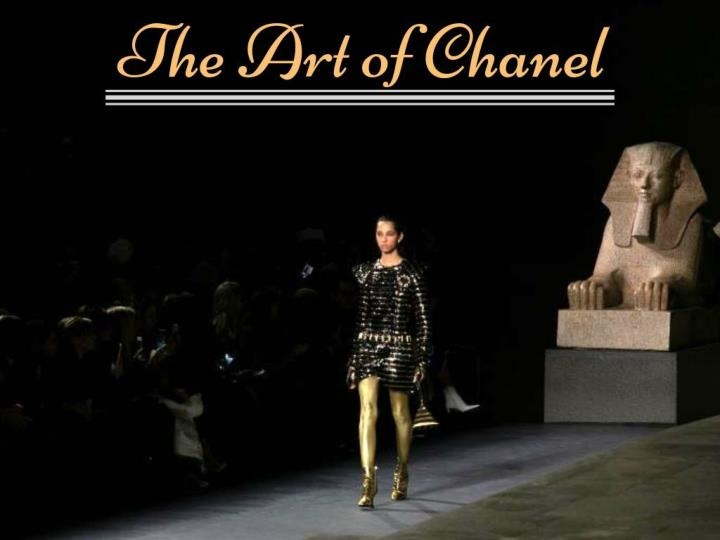 the art of chanel n.