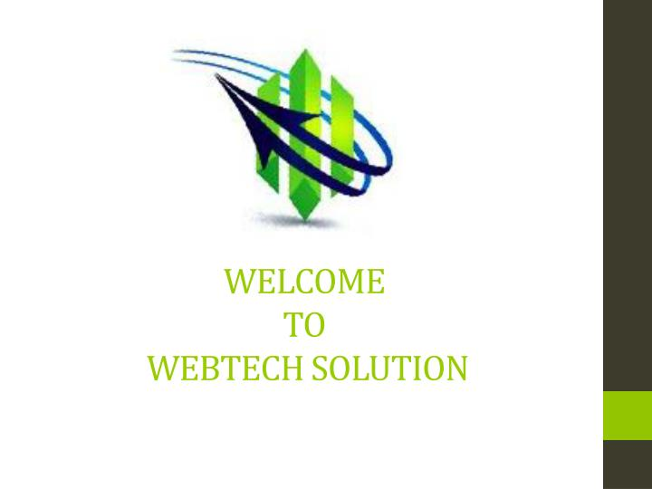 welcome to webtech solution n.