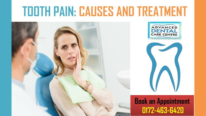 tooth pain causes and treatment n.